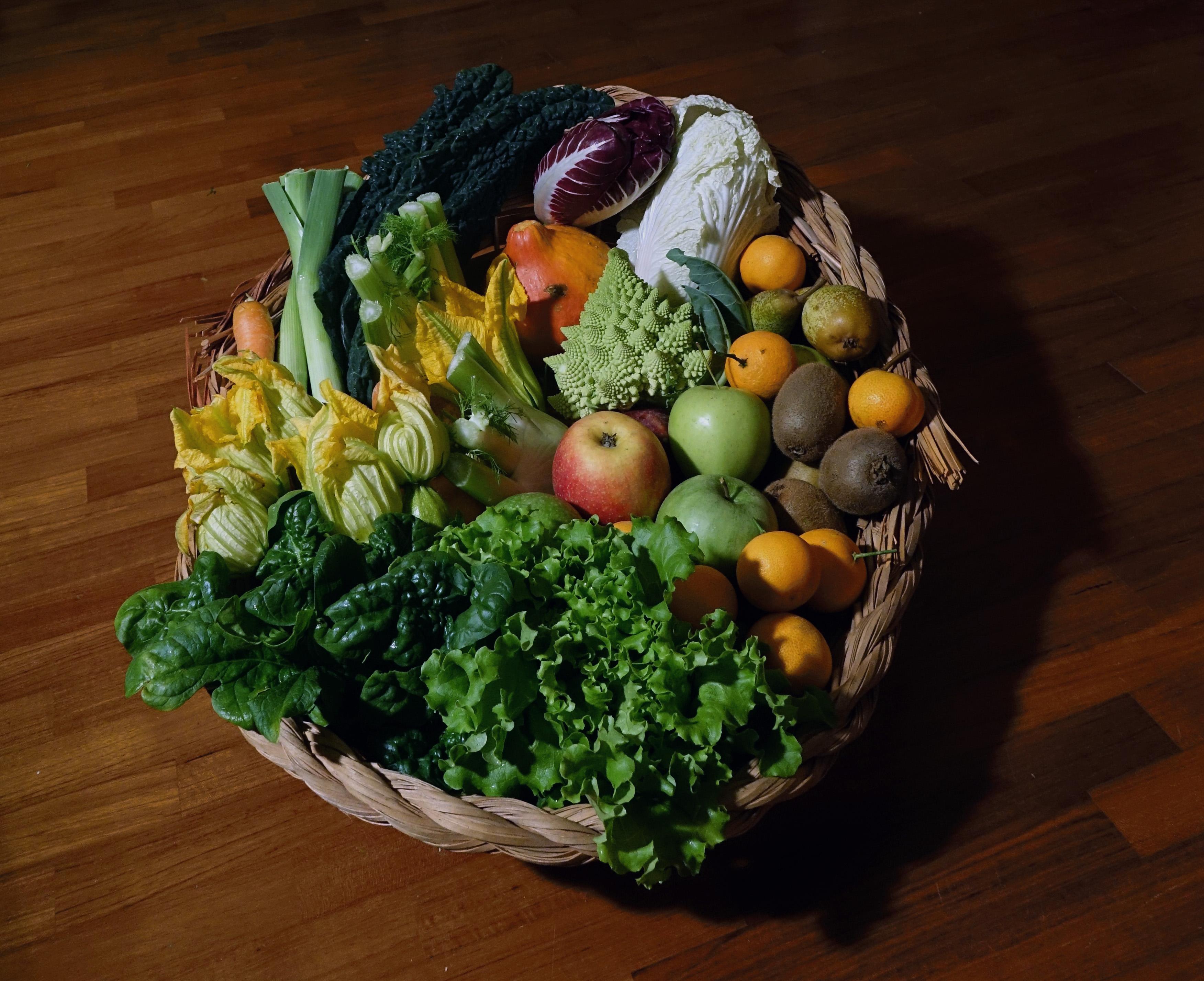 Pacchetto Da 8 Cesti Di Verdura Di Frutta Misti Verdura Frutta